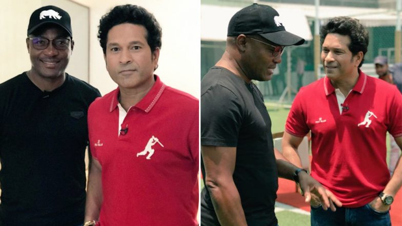 On the Sidelines of IPL 2019, Legends Sachin Tendulkar and Brian Lara Meetup; Discuss Cricket, Golf and More!