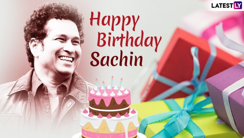 Sachin Tendulkar Birthday Wishes & WhatsApp Messages: Send Greetings to Master Blaster on His 46th Birthday With These Sweet Quotes on Facebook and Twitter!