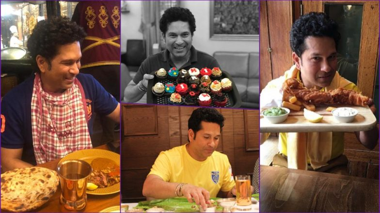 'Birthday Boy' Sachin Tendulkar Is a Foodie! 10 Times the Master Blaster Professed His Love for Food on Instagram