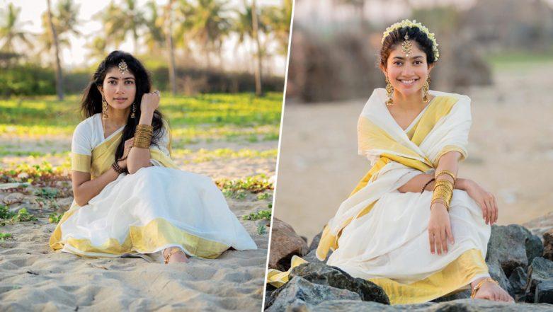 Sai Pallavi Looks Ethereal in the Kasavu Saree, Actress' Traditional Avatar Ahead of Vishu 2019 Is Winning Hearts! See Pics