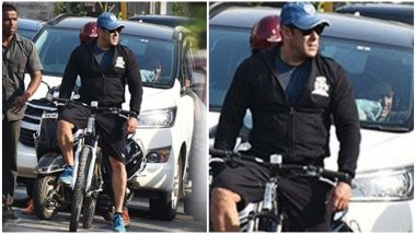 Salman Khan's Cycle Ride in Juhu Lands Him in Legal Trouble and It's Not For Bad Driving!