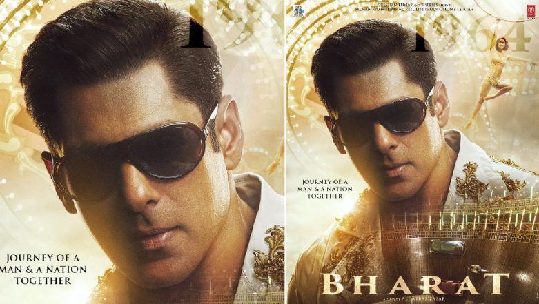 Bharat Movie Poster: Salman Khan Impresses in His Blingy Avatar, but Did You Spot Disha Patani in the Background? – See Pic