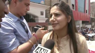 Sapna Chaudhary Campaigns For Manoj Tiwari in North-East Delhi Lok Sabha Constituency, Refutes Reports of Joining BJP