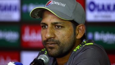 Sarfaraz Ahmed Returns to Pakistan after Exiting 2019 ICC World Cup: Let's Not Say That India Lost on Purpose Against England, Says Pak Skipper