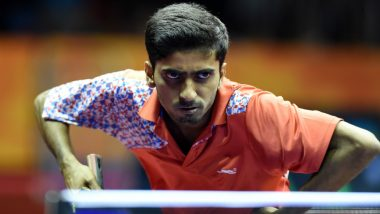 Sathiyan Gnanasekaran Beats Simon Gauzy in Debut ITTF Men's World Cup 2019 Match