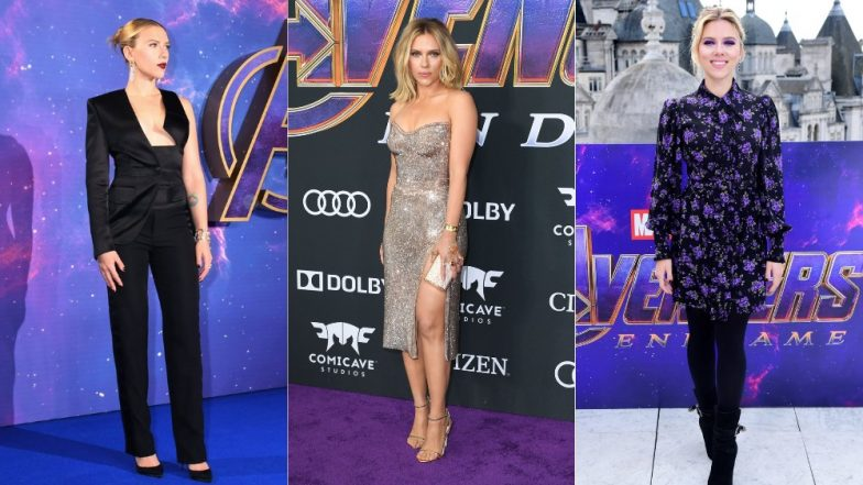 Scarlett Johansson's Chic Style For Avengers: Endgame Promotions Are Experimental And Extremely Eclectic - View Pics!