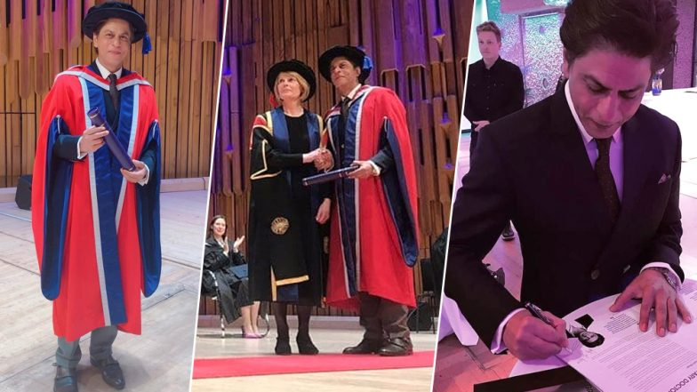 Shah Rukh Khan Once Again Wins Hearts With His Inspiring Speech After Receiving Honorary Doctorate Award-Watch Video