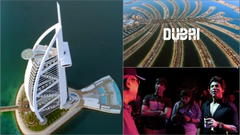 Shah Rukh Khan Explores Exotic Locations in Dubai Tourism's #BeMyGuest Campaign (View Behind-the-Scene Pics)