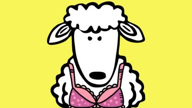 Bra Bra White Sheep? Meet Barbara, the Ewe Who Wears a Double D Lingerie to Support Her Udders