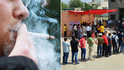 Smoke a Cigarette Nearby Polling Stations in Karnataka During Lok Sabha Elections 2019, Pay Rs 200 Fine