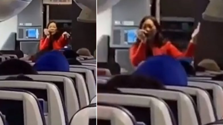 Southwest Airlines Flight Attendant Raps Safety Instructions As Passengers Beatbox! (Watch Video)