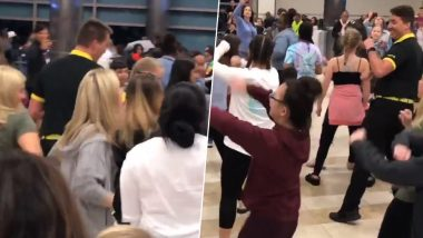 Video of Spirit Airlines Employee Dancing With Cheerleaders at South Carolina Airport After Flight Delay Announcement Goes Viral