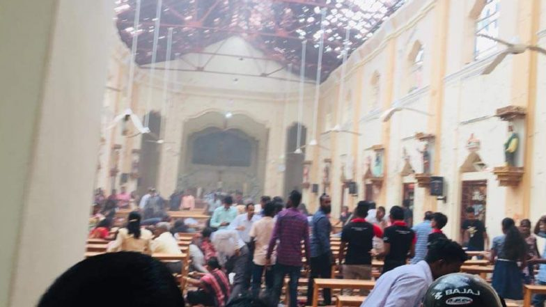 Horrifying Bomb attack In Srilanka