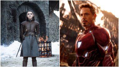 Go Team Stark: Arya in Game of Thrones Season 8, Tony in Avengers: Endgame, Twitterati Hail the Two for Saving the Day (SPOILER ALERT)