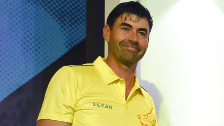 IPL 2019 Video Diaries: Chennai Super Kings Celebrated Coach Stephen Fleming's Birthday After Their Win Against Rajasthan Royals; View Pics