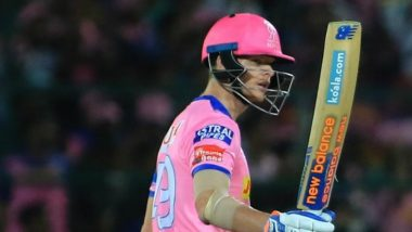 Steve Smith Named the Captain of Rajasthan Royals for the Remaining Series Ahead of their Game Against Mumbai Indians