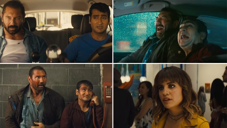 Stuber Trailer: Kumail Nanjiani Teams Up With Dave Bautista in This Uber Ride Gone Crazy – Watch Trailer