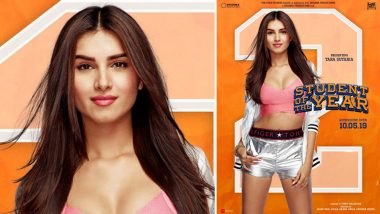 Student of the Year 2: Tara Sutaria Rocks the Diva Look, All Set to Create a Storm in St Teresa; View Pic