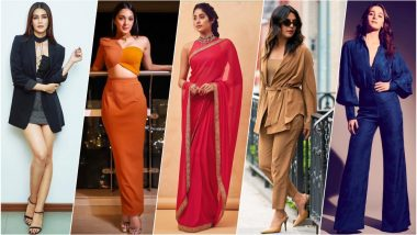 Who Wore What Over the Weekend: Alia Bhatt, Janhvi Kapoor, Kriti Sanon, Kiara Advani, Priyanka Chopra, Sonam Kapoor & More Slay With Their Stylish Outings