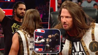 WWE Raw April 29, 2019 Results and Highlights: Seth Rollins and AJ Styles Brawl After Signing Contract for WWE Universal Championship Match at Money in the Bank PPV (Watch Video)