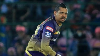 Ahead of MI vs KKR Match IPL 2019, Sunil Narine Celebrates World Laughter Day With a Hearty Laugh (Watch Video)