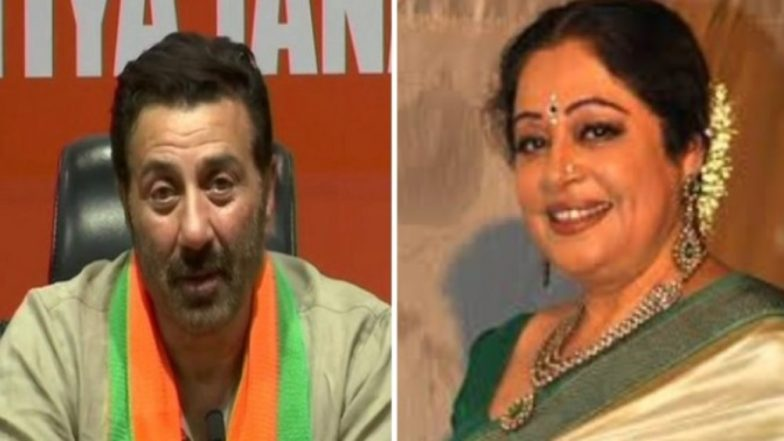 BJP Names Sunny Deol as Candidate From Gurdaspur, Retains Kirron Kher in Chandigarh For Lok Sabha Elections 2019