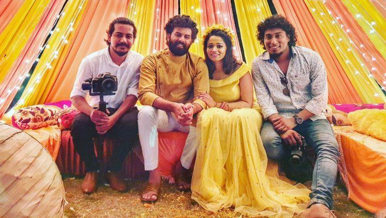 Sunny Wayne and Renjini Kunju's Haldi Ceremony Pic Surfaces Online, Couple Looks Stunning in Shades of Yellow
