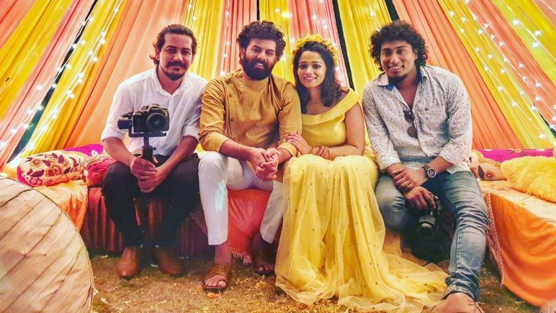 Sunny Wayne and Renjini Kunju's Haldi Ceremony Pic Surfaces Online, Couple Looks Stunning in Shades of Yellow