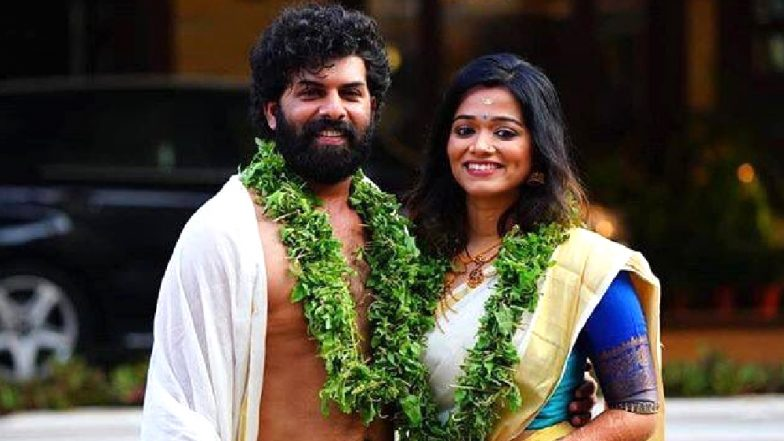 Second Show Fame Sunny Wayne Ties the Knot With Renjini Kunju at Guruvayoor! Announces the Big News on Facebook