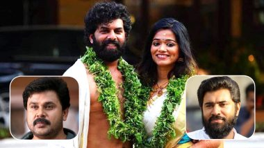 Sunny Wayne-Renjini Kunju Wedding: Actor Dileep Poses With the Newlywed's, Nivin Pauly Extends Heartfelt Wishes