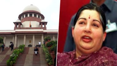 Jayalalithaa Death Probe: Supreme Court Stays Inquiry by Justice Arumugasamy Committee