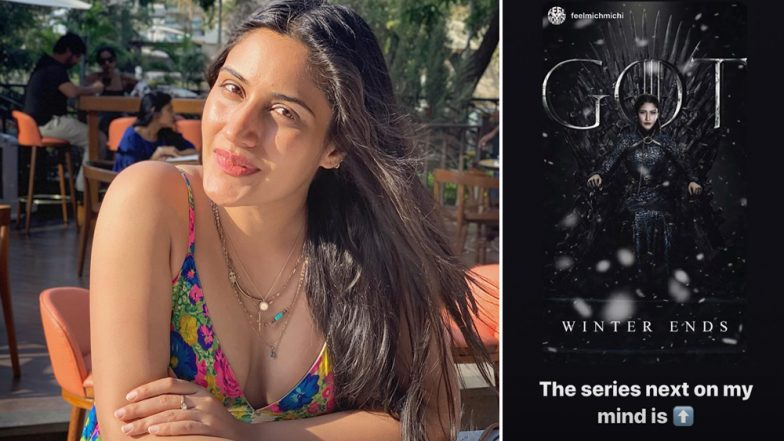 After Nakuul Mehta Poses as Jon Snow, Surbhi Chandna Becomes Sansa Stark From Game of Thrones in Her Latest Instagram Story - View Pic