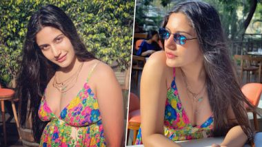 Ishqbaaz Actress Surbhi Chandna Stuns Fans in Glamorous Floral Dress With Plunging Neckline - View Pics