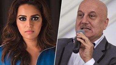 Swara Bhaskar Lambastes Anupam Kher For Commenting Against Kanhaiya Kumar, Questions Sadhvi Pragya Singh Thakur's Candidature; Read Tweets