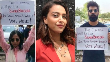 Swara Bhasker's Masturbation Scene From Veere Di Wedding Resurfaces on Polling Day As Trolls Target Her, Actress Hits Back Like a Boss