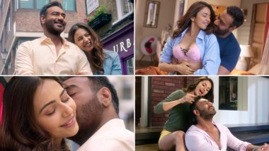 De De Pyaar De Song Tu Mila to Haina: Ajay Devgn and Rakul Preet Singh's Crackling Chemistry in this Romantic Track Makes Us Forget Their Age-Gap (Watch Video)