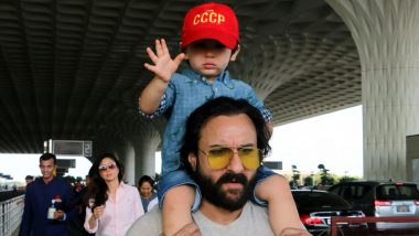 Saif Ali Khan Asks Paparazzi To Not Stalk Taimur and We Heart That Request!