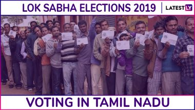Tamil Nadu Lok Sabha Elections 2019: Phase 2 Voting Ends in 38 Parliamentary Constituencies, 61.52% Turnout Recorded