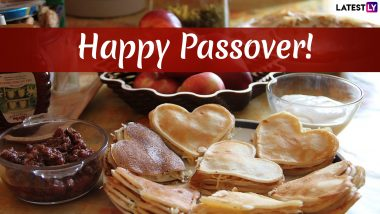 Happy Passover 2019 Wishes: Pesach WhatsApp Messages, GIF Image Greetings, SMS & Quotes to Send on the Jewish Festival