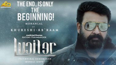 Lucifer: Prithviraj Sukumaran Reveals New Character Poster for Mohanlal That Hints Sequel is On The Way - View Pic