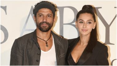 B-Town's Favourite Couple Farhan Akhtar and Shibani Dandekar Look Stunning Together at Sabyasachi Mukherjee's Celebration Event (View Pics)