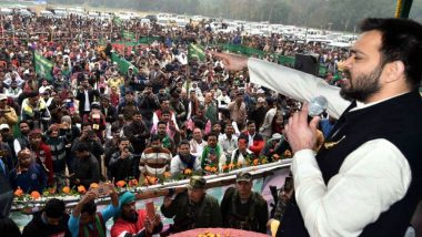 Tejashwi Yadav Mentions Priyanka Chopra's Wedding Reception to Attack PM Narendra Modi