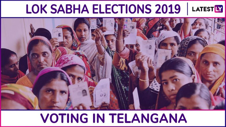 Telangana Lok Sabha Elections 2019: Voting Ends in All 17 Parliamentary Seats, 60.57% Polling Recorded