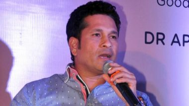 Sachin Tendulkar Unhappy With MS Dhoni and Kedar Jadhav's Lack of Intent Against Afghanistan in ICC CWC 2019