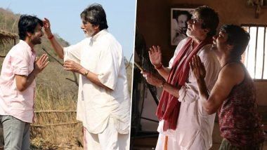 Amitabh Bachchan and SJ Suryah's Tamil-Hindi Film Titled 'Tera Yaar Hoon Main', Check Out Pictures from the Mumbai Shoot