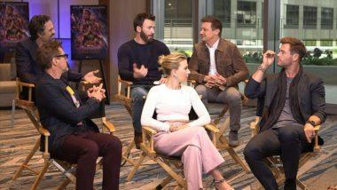 The Avengers: Endgame Stars Chris Hemsworth, Mark Ruffalo, Scarlett Johansson Assemble To Retell The Story Of Infinity War For Kids - Watch Video