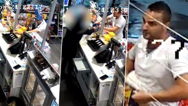 Thief in Queensland Enters Store Wearing a Shopping Bag to Hide His Face, Video Goes Viral