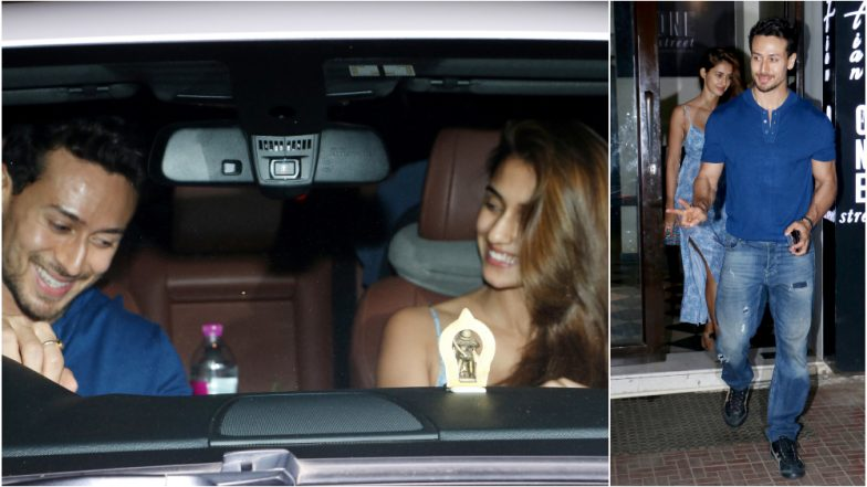 After Jackie Shroff Almost Confirms Son Tiger Shroff and Disha Patani's Relationship, the Couple Steps Out For a Date at a Bandra Restaurant - See Pics!