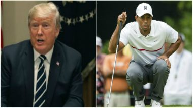 Donald Trump Announces Presidential Medal of Freedom For Golfer Tiger Woods After He Win Fifth Masters Title