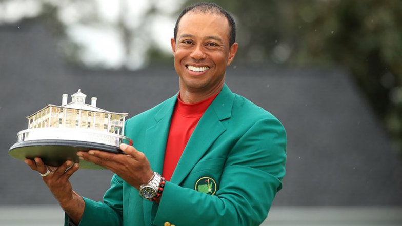 Tiger Woods Receives Compliments From Barack Obama, Donald Trump and Serena Williams for His 5th Master Title at Augusta National